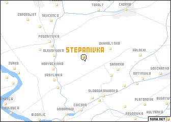 map of Stepanivka