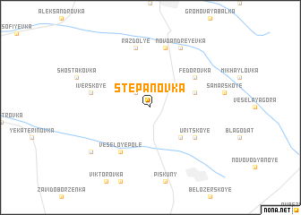map of Stepanovka