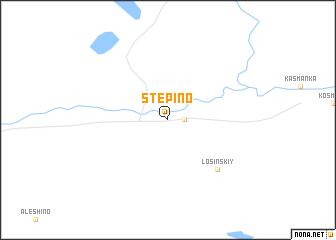 map of Stepino