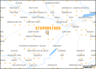 map of Stępna Stara