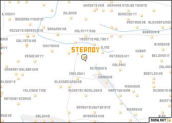 map of Stepnoy