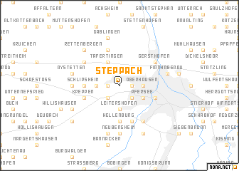 map of Steppach