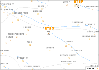 map of Step\