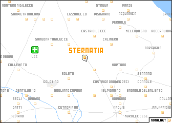 map of Sternatia