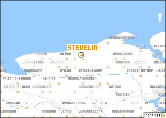 map of Stevelin
