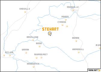 map of Stewart