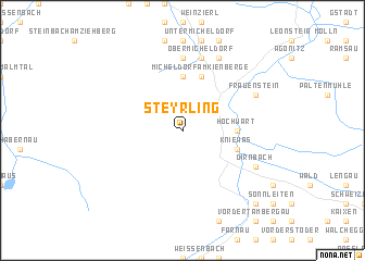 map of Steyrling