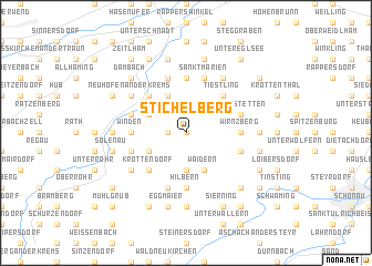 map of Stichelberg