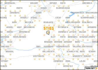map of Stieg