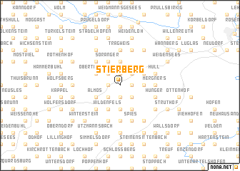 map of Stierberg