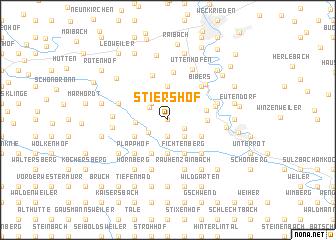 map of Stiershof