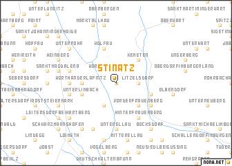 map of Stinatz