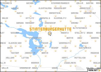 map of Stintenburger Hütte