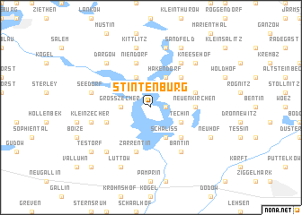 map of Stintenburg