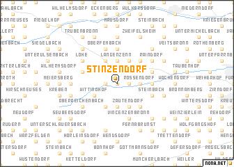 map of Stinzendorf