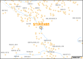 map of Stipin Han