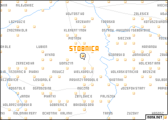 map of Stobnica