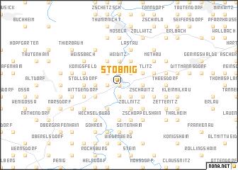 map of Stöbnig