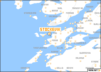 map of Stockevik