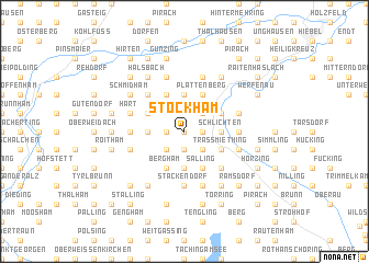 map of Stockham