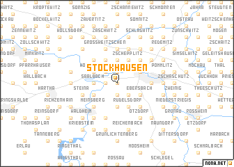 map of Stockhausen