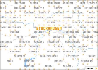 map of Stockhausen