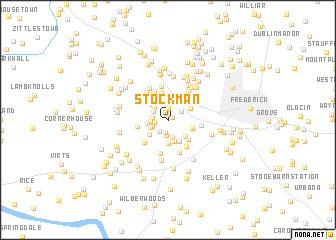 map of Stockman