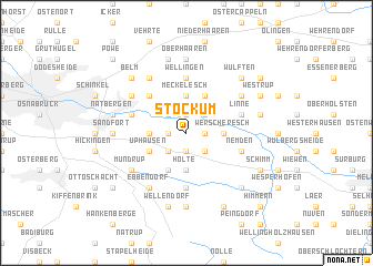 map of Stockum