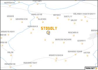 map of Stodoly