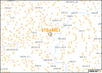 map of Stojanci