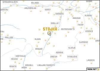 map of Stojka