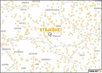 map of Stojkovići
