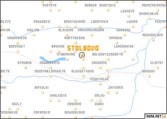 map of Stolbovo