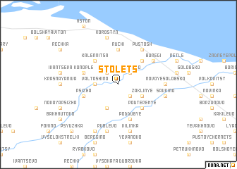 map of Stolets