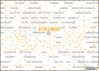 map of Stollberg