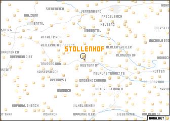 map of Stollenhof