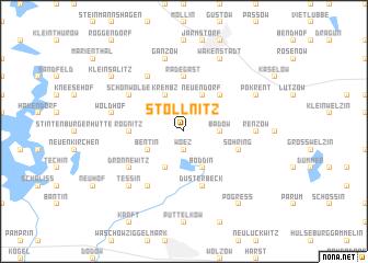 map of Stöllnitz