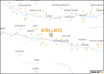 map of Stollwitz