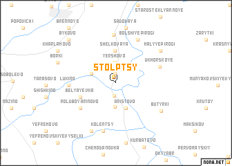 map of Stolptsy