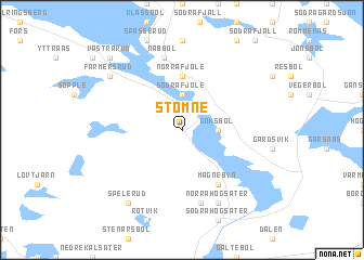 Stömne Sweden Map Nonanet - Sweden map varmland