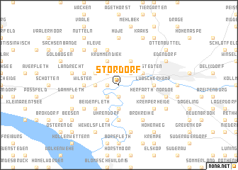 map of Stördorf