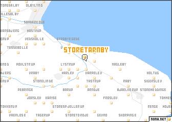 Store Trnby Denmark map nonanet