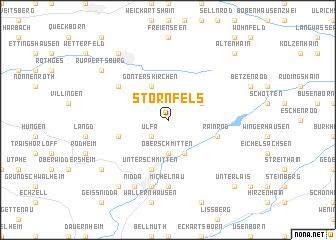map of Stornfels