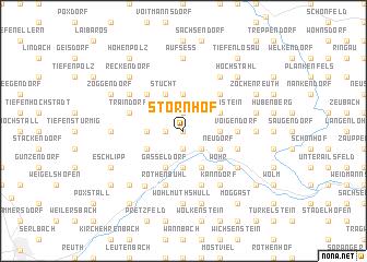 map of Störnhof