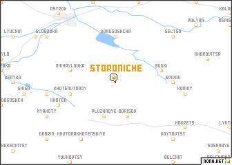 map of Storoniche