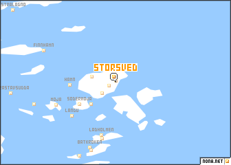 map of Storsved