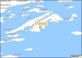 Storvik Sweden Map Nonanet - Sweden map 3d