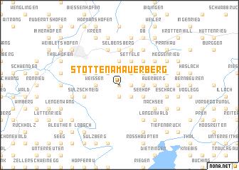 map of Stötten am Auerberg