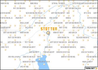 map of Stötten