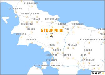 map of Stouppaíoi